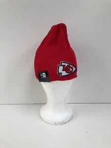 a684ed60d Kansas City Chiefs New Era NFL Club Beanie Hat - OSFA - Red - New