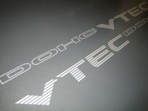 X2 Honda Civic Dohc Vtec decals//stickers Mb6-libre de envío