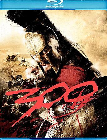 300 Blu-ray, 2007 Gerard Butler, Lena Headey, David Wenham NEW, Sealed - $4.98