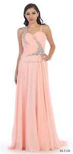 Sale Tall Evening Gown Flowy Formal Prom Pageant Charity Ball