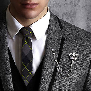 suit silver is loading badge s plated accessory pin gold men lapel brooch image jewelry retro itm lance