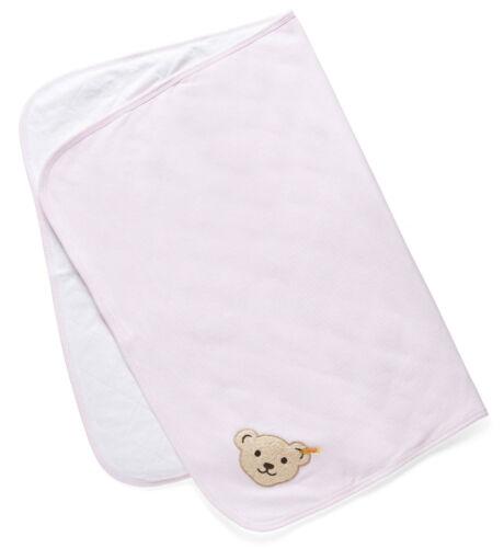 Steiff ® bébé fille Jersey tapis éveil Couverture ROSA l000020302 Ours basic neuf!