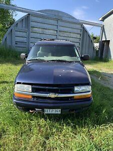 2002 Blazer Chevrolet 4x4 6cyl
