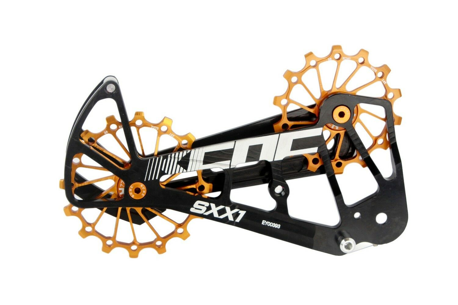 KCNC SXX1 Mountain Bicycle Bike Oversized Pulley Cage for Sram Eagle XX1 gold