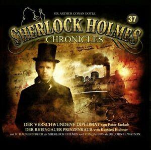 SHERLOCK-HOLMES-CHRONICLES-FOLGE-37-DER-VERSCHWUNDENE-DIPLOMAT-CD-NEW