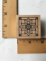 Rare - Outlines Rubber Stamps - Small Frame 2 -