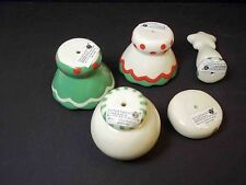 Dept 56 Lot of 5 NEW Christmas Make Your Own Ornament Beads Parts