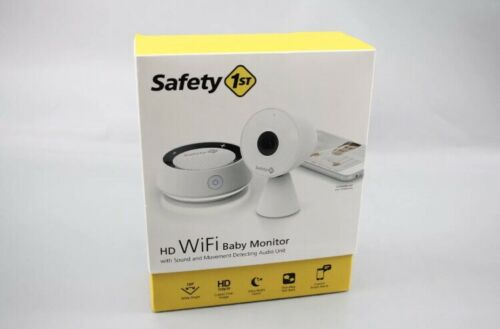 SOUND Safety 1st HD Wi-fi Baby Monitor MO163 CAMERA MOVEMENT DETECTION!