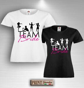8442e5a2 T-shirt bachelorette PARTY TEAM BRIDE PARTY T-shirt Funny Squadra ...