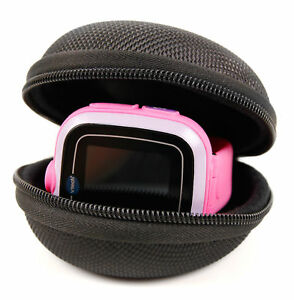 EVA-Hard-Shell-Case-in-Black-For-Use-W-VTech-Kidizoom-Smartwatch-Kidizoom-DX