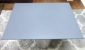 HPL Platte Tischplatte 8mm Steel Grey beidseitig 1220 x 780 mm TRESPA® Meteon®