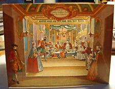 Laubhüttenfest Martin Engelbrecht 18. Jhd. Reprint Guckkästchen Pop-up Diorama