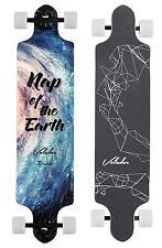 MINORITY Downhill Maple Longboard 40 inch Drop Deck Galaxy