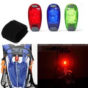 3-LED-Light-Running-Bike-Rear-Lamp-Cycling-Jogging-Safety-Warning-Light