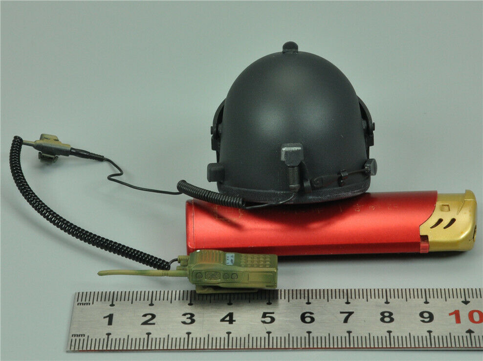 Helmet & Radio for DAM 78059 RUSSIAN SPETSNAZ MVD 2.0 1 6 Scale 12'' Figure New