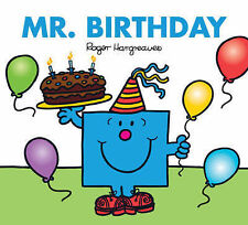 NEW sparkly MR BIRTHDAY (BUY 5 GET 1 FREE book) Little Miss Men 9781405223348