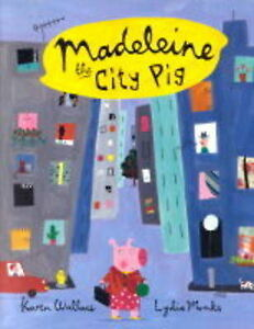 Madeleine-The-City-Pig-pb-by-Wallace-Karen-Good-Used-Book-Paperback-FREE-amp