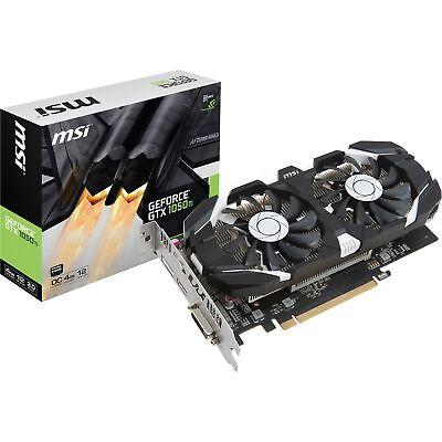 MSI GeForce GTX 1050 Ti 4GT OC, Grafikkarte