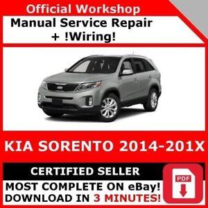 Details about # FACTORY WORKSHOP SERVICE REPAIR MANUAL KIA SORENTO  2014-201X WIRING