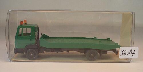 20 633 MB Mercedes Benz 817 LKW Abschleppwagen grün OVP #3614 Wiking 1//87 Nr