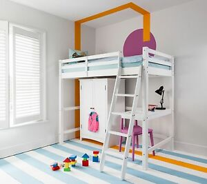 Image Is Loading Cabin Bed High Sleeper Kids Bunk Odin