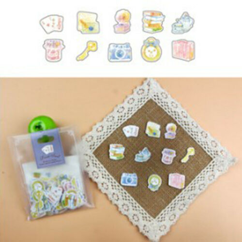Lovely Journal Paper Stickers Diary Label Decor Album DIY Scrapbooking Decal Lot
