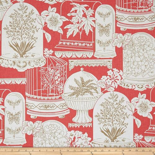 P//Kaufmann Sun Parlor Guava Fabric By The Yard