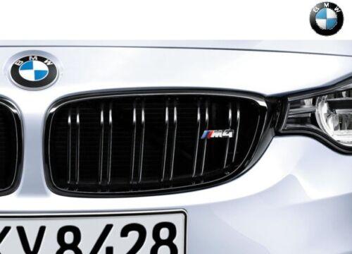 Original BMW m4 Performance 4er Ziergitter rénale f82//32 Noir 51712352811+812