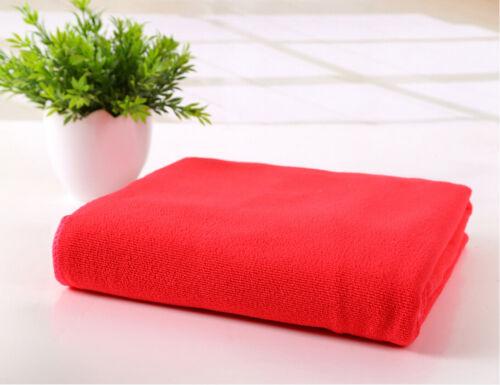Large Microfibre Cotton Beach Bath Hand Towel Sports Travel Gym Lightweight ELEH
