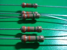 1//2  .5 Watt Carbon Film Resistors 430K ohm 5/% Canada 5 Resistor