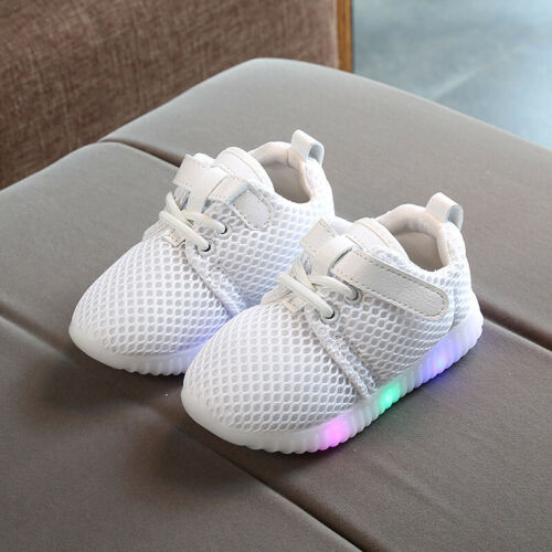 Shoes Toddler Baby Boys Girls Kids Luminous Sneakers Light Up Shoes