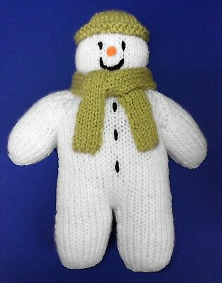 Kevin the Carrot inspired 20 cms soft toy Christmas doll KNITTING PATTERN