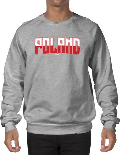 Polish Poland Polska Crewneck Sweatshirt