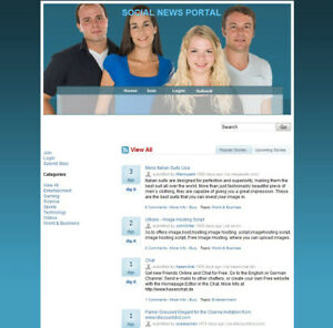 Social-Network-Website-For-Sale-Money-from-Google-Adsense-Amazon-Affiliate