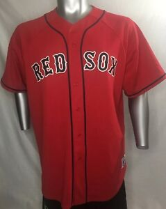 the best attitude 2a7ff fccb3 Details about Boston Red Sox Majestic Official MLB Jersey Size 2XL Red XXL  47 Hightower