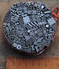 Vignetten Mix Stempel Bleiornamente Bleisatz Ornamente Jugendstil Art Nouveau