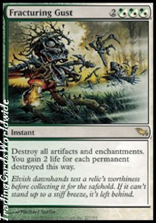 Fracturing Gust    Foil      NM    Shadowmoor    engl.    Magic the Gathering 1454cb