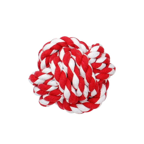 PetArtist® Dog Toys Pet Puppy Dog Ball Toy Cotton Rope Chew Toys Interactive