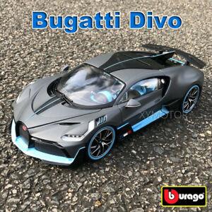 Bugatti-Divo-Bburago-1-18-escala-Diecast-Modelo-Coche-Roadster-juguetes-y-Collection