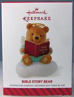 Bible Story Bear 2014 Hallmark Christmas Holiday Ornament God's Sweet Love