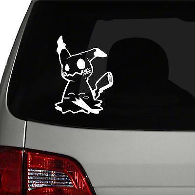 "Wall.. Car Pokemon 658 Greninja Vinyl Decal Sticker 5/"" x 7.9/"" Window"
