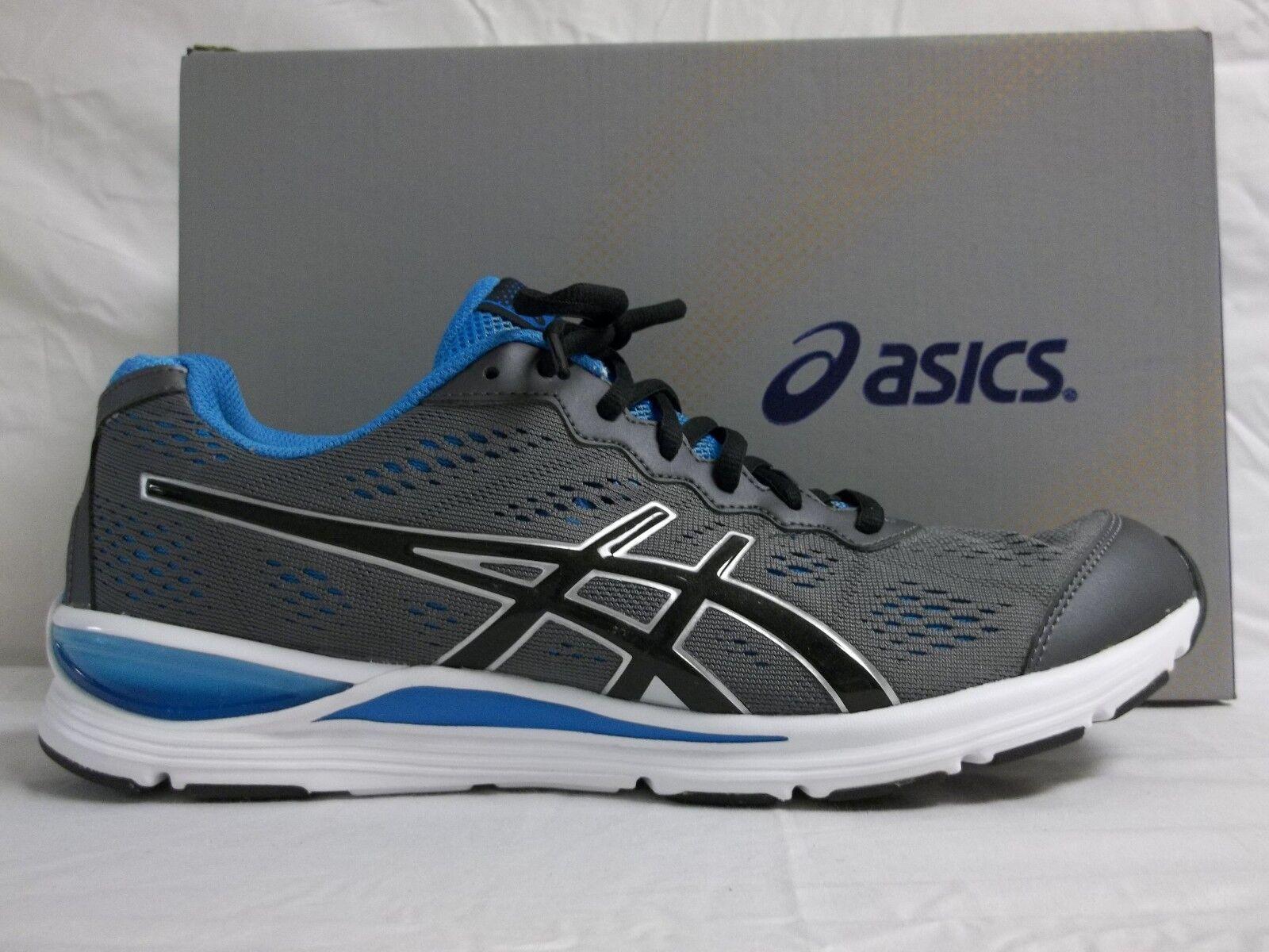 Asics Size 11.5 M GEL STORM 2 Granite Black Athletic Sneakers New Mens shoes