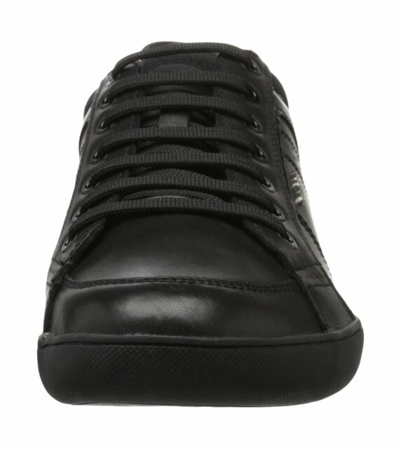 a5849becb9f Geox U Kristof a Men's Low-top SNEAKERS Black (blackc9999) 10 UK for ...