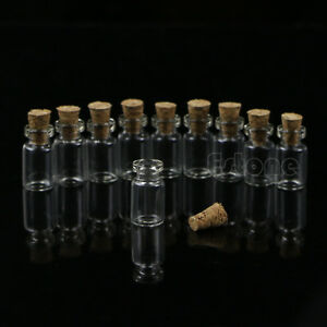 10pcs-0-5ml-10-18mm-Small-Empty-Clear-Glass-Bottle-Vials-with-Cork-Storage-Craft