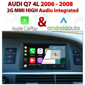 AUDI Q G MMi Integrated Apple CarPlay Android Auto - Audi car play