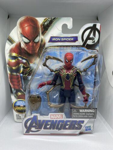 Marvel Spiderman Iron Spider Avengers Infinity War action figure new Hasbro