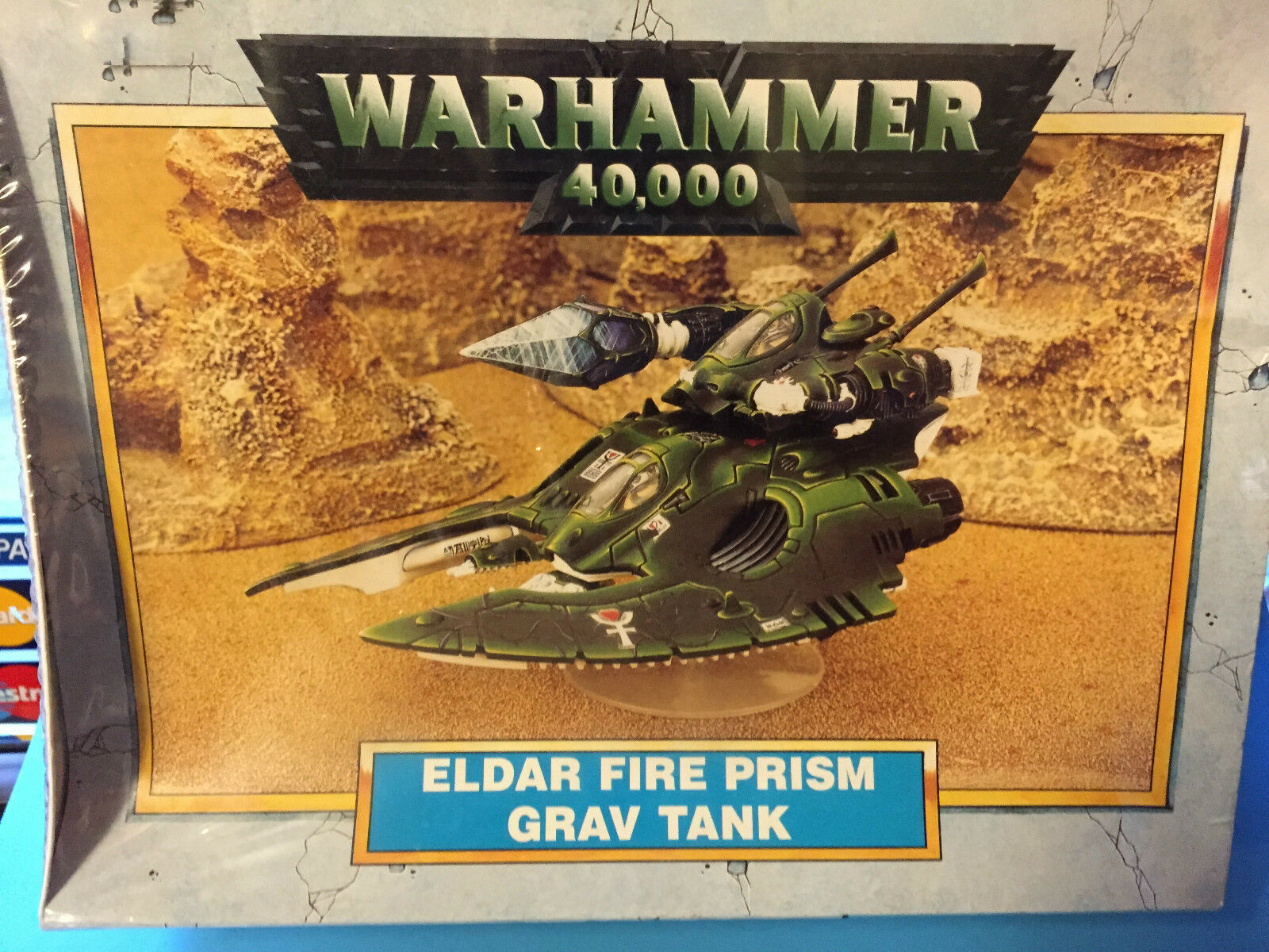 Warhammer  40.000 Eldar Fire Prism Grav Tank, Nuevo Plastico y Metal  connotation de luxe discret