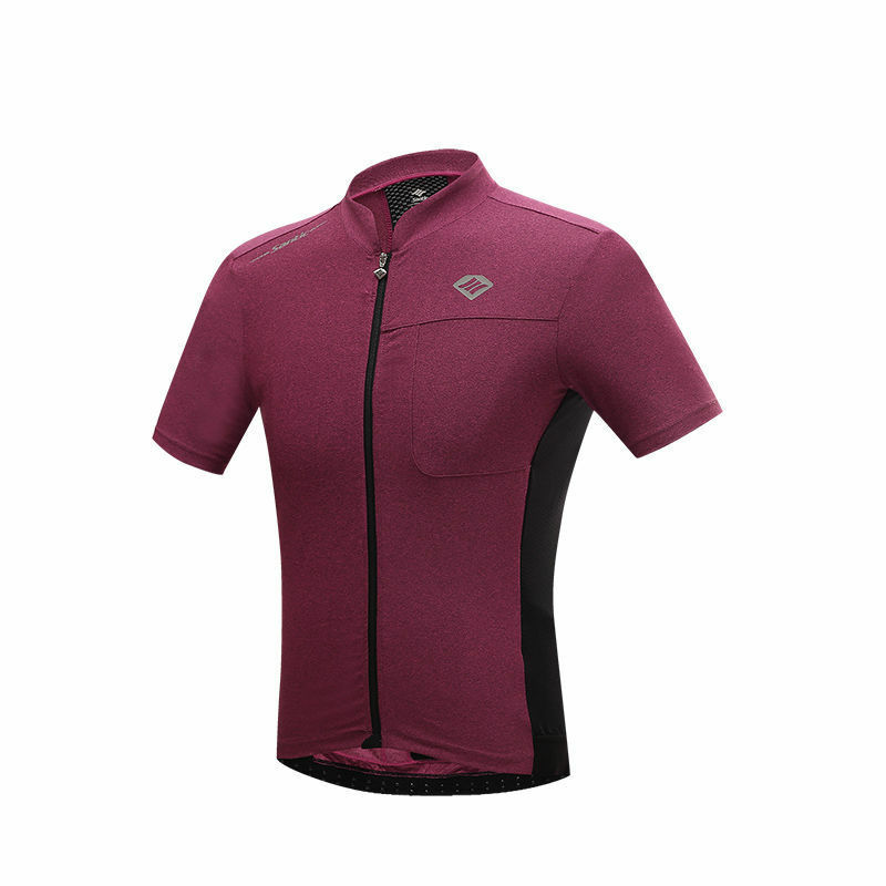 SANTIC Cycling Summer Short Sleeve Jersey Breathable Fast Dry UV-proof