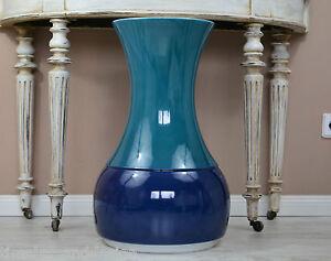 RAR-XXL-BODENVASE-Thomas-Porzellan-Vase-Rotunda-Space-Age-60cm-hoch-37cm