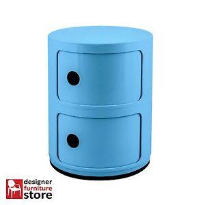 Replica-Componibili-Cabinet-2-Tier-Blue